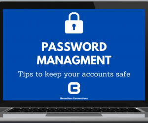Password management tips to keep your account safe